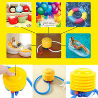 best foot pump - Best Price durable Plastic Foot Step Air Pump Hose Easy For Inflatable Swim Ring balloon yoga ball Convenient