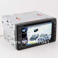 Wholesale 6 inch Din LCD Bluetooth HD Touch Screen Car DVD Audio Video Player with GPS Navigation with mic support TV