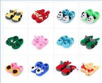 Wholesale Handmade Newborn Bear Pattern First Walker Cute Doggy Yarn Home Wear Baby Shoes Crochet Rabbit Toddler Girl Infantil Kids Shoe