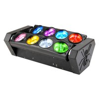 Wholesale RGBW x10W Quad in1 CREE LED moving head beam Spider bar light disco dj club ktv effect light