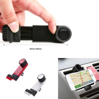Wholesale Universal Elastic Mobile Phone Holders Car Air Vent Holder Mount Bracket for iPhone Samsung Cellphone GPS MP4 PDA Devices