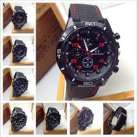 Cheap Wholesale ! F1 Grand Touring GT Men Sport Quartz Watch Military Watches Army Japan PC Movement Wristwatch Fashion Men's Watches