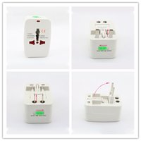 Wholesale Universal International Travel Power Adapter Plug US UK EU AU AC Plug Brand New Surge Protector