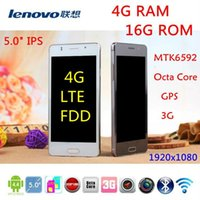 mobile phone new model - 2015 NEW G LTE FDD Lenovo phone S850c quot G RAM G ROM GPS MP Octa Core Ghz MTK6592 Android x1080 dual SIM mobile phone