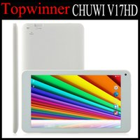 Wholesale 5pcs DHL Android Kitkat quot Quad Core CHUWI V17HD Tablet PC Tablets Inch IPS Screen RK3188 GB GB Wifi P