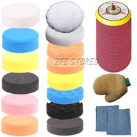 Wholesale 32Pcs mm Higher Gross Polishing Buffer Pad Kit for Car Thread