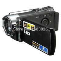 Wholesale 1080P Full HD CMOS Sensor quot LCD Screen Rechargeable Automatic Digital Video Recording Camcorder16x Zoom DV Camera Rotation
