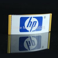 Wholesale Gold color high quality magnetic name tags reusable name badges