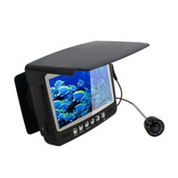 aa records - 4 quot LCD Underwater Video Fish Finder Camera DVR TVL Night VIsison IR Fishing Camera with M Cables Recording FF S