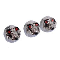 button skull - Chrome Metal Skull Head Control Knobs for Electric Guitar Guitar pots Tone volume Control Knobs Buttons MU0861