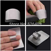 Wholesale 2016 Kitchen Helper Stainless Steel Hand Guard Finger Protect Safety Cooking Tools
