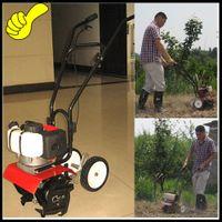 Wholesale gasoline hand push walking garden rotary tiller machine