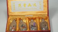 Wholesale New Fine old Chinese Unique Painting portray snuff bottle inside painted four combinations Classic collectibles
