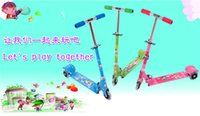 Wholesale J G Chen Children Scooters Scooter for Kids Years Old Child PU Light Wheels Foot Scooters patinete colors