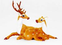 alpine christmas trees - Whimsical ALPINE REINDEER Carib Elk HOLIDAY Xmas Standing Reindeer REINDEER Christmas kids adult costume accessory Christmas Party Costume