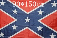 Wholesale The Truth About the Confederate Battle Flags Two Sides Printed Flag Confederate Rebel Civil War Flag National Polyester Flags by DHL