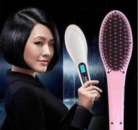 Wholesale Beautiful Star NASV Hair Straightener Comb Straight Hair Styling Tool Straightening Irons Digital Temperature Controller