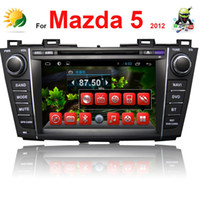 Wholesale 8 quot HD Capacitive Screen Car dvd player for Mazda car radio bluetooh TV G WIFI Android gps Navigation car stereo