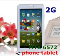 Wholesale 2PCS Ultrathin Galaxy Phablet Inch Android G Phone Tablet PC Dual Core MTK6572 GPS Bluetooth Dual Camera Tablet PC TA79
