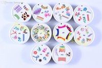 art rubber stamp - HOT Nail Image Plate Image Stamping Plate Nail Art mm Diameter Rubber Plate Stamper different design X227