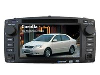 Wholesale Fit for BYD F3 Toyota Corolla E120 inch Car DVD player gps Navigation BLUETOOTH RADIO PLAYER map camera