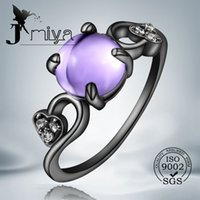 Cheap With Side Stones black ring Best South American Women's wedding ring