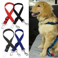 Wholesale Travel Pet dog seat belts Car seat adapter for dog cat Vehicle seat Harness Lead belt buckle adjustable