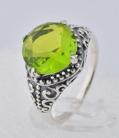 antique peridot jewelry - retail latest luxury gifts of jewelry sterling silver antique silver western style wedding wedding ring gem ring