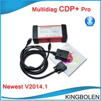 Wholesale New Arrive Delphi Software Multidiag TCS CDP Built in Bluetooth car Truck Diagnostic tool CDP Plus DHL
