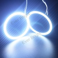 audi halo headlights - New Arrival pairs MM Car Led Headlight COB Angel Eye LED CCFL Halo Ring Angel Eyes Warning Lamps