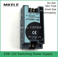 Wholesale ac to dc mini volume w v din rail power supply LP W A din rail smps with low ripple noise