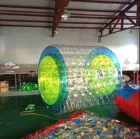 Wholesale Custom cheap Inflatable fun roller high quality water walking rollers rolling ball