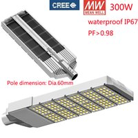 Wholesale 300W LED Street Light road path walkway lamp tunnel light floodlights fitting years warranty waterproof IP65