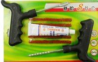 discount auto tools - Retail Discount Car Auto Tubeless Tire Tyre Puncture Plug Repair Kits Car Tools Auto Repair