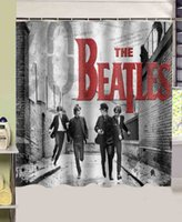 band shower curtain - The Beatles Classical Band custom Shower Curtain x180cm Waterproof Fabric Shower Curtain for Bathroom with Free Hooks