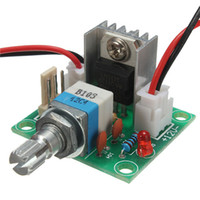 Wholesale High Quality LM317 Linear Full stage Voltage Regulator Board Fan Speed control w Switch