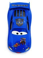 diecast cars - 2015 the newest Pixar Cars toys Optimus prime version alloy car model toy gift for children Diecast Cars Model Vehicle
