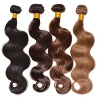 Wholesale Big Promotion Cheap A Virgin Brazilian Hair Extensions Body Wave Unprocessed Peruvian Malaysian Indian Remy Human Hair Weave Weft
