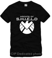 Unisex agent shirt - eagle Avengers Agents of S H I E L D SHIELD sitcoms couple clothes For unisex sports T shirt cotton color
