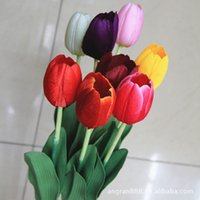 Wedding Others Others Wholesale-Explosion models factory direct single Tulips fake flowers silk flower artificial flowers wholesale trade plants