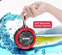 Wholesale C6 Wireless Bluetooth Outdoor Waterproof Speaker Handsfree Portable Speakerphone with Built in Mic Outdoor Use