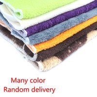 Wholesale 5pcs Soft High Quality Banboom Fiber Multiple Colors Absorbent Anti greasy Dish Wash Towel Cleaning Cloth Kitchen Helper