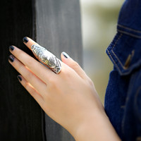 big fashion rings - 2015 Vintage Fashion Gold Silver Plated Big Rings Jewelry Hot Accessories For Women PT36 J0027