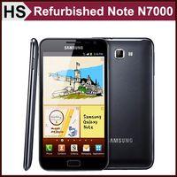 Wholesale Refurbished Original SAMSUNG GALAXY Note N7000 Android Smart Phone GB RAM GB ROM Wifi GPS G WCDMA Unlocked Cheap Cellphone