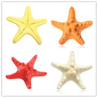 Wholesale Artificial Starfish Platform Ornament Accessories New Sea Star All For Wedding Home Decoration Red White Yellow Color