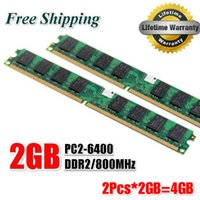 Wholesale Brand New GB GB DDR2 Mhz PC2 U GB For Desktop Ram Memory