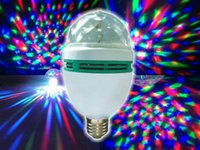 color light bulb - E27 AC85v V W RGB LED Bulb Light Automatic Spin LED Effect Lighting for Party Color Gradual Change