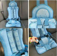 Five-Points & Isofix children car booster seat - New Portable Baby Child Kids Car Safety Booster Seat Cover Harness Cushion