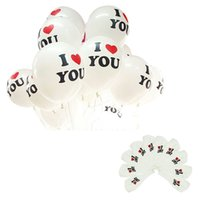 Wholesale 19 Modern Good Quality inch Pearl Latex Balloon I LOVE YOU Balloons Christmas gifts Wedding Decorations May30