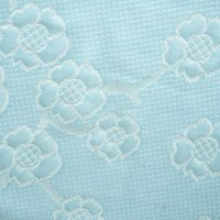 Wholesale Yard CM Polyester Jacquard Scuba Knit Fabric for Memory Foam Mattress Cover